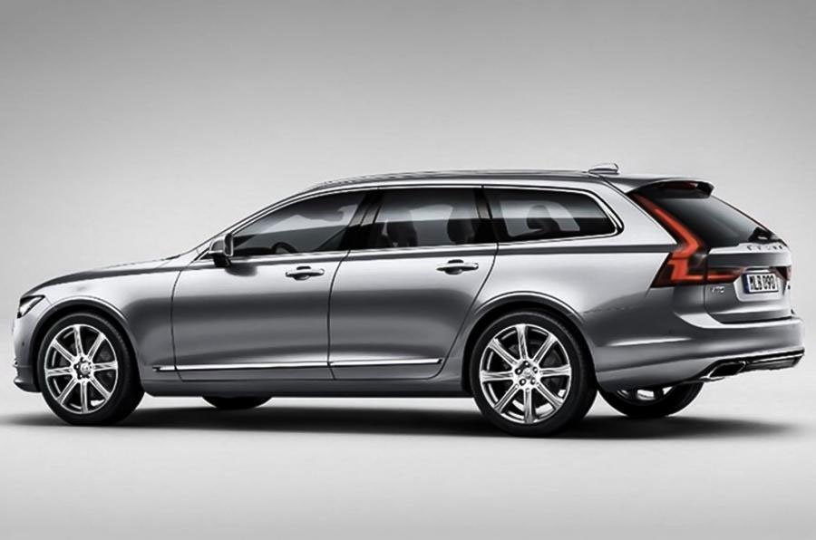 2016 Volvo V90 Wagon Leaks Looking Long, Lean, and Sexy