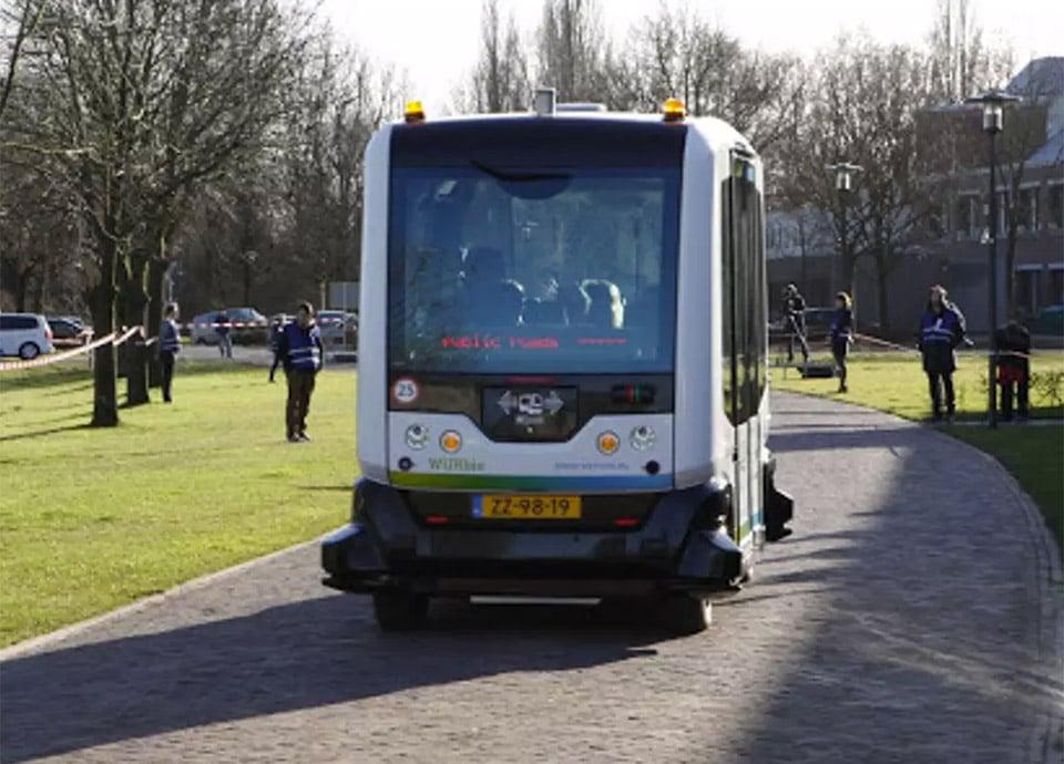 Wepods Autonomous Bus Now Testing on Public Roads