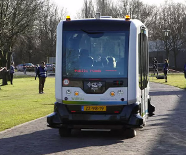 Wepods Autonomous Bus Now Testing on Public Roads