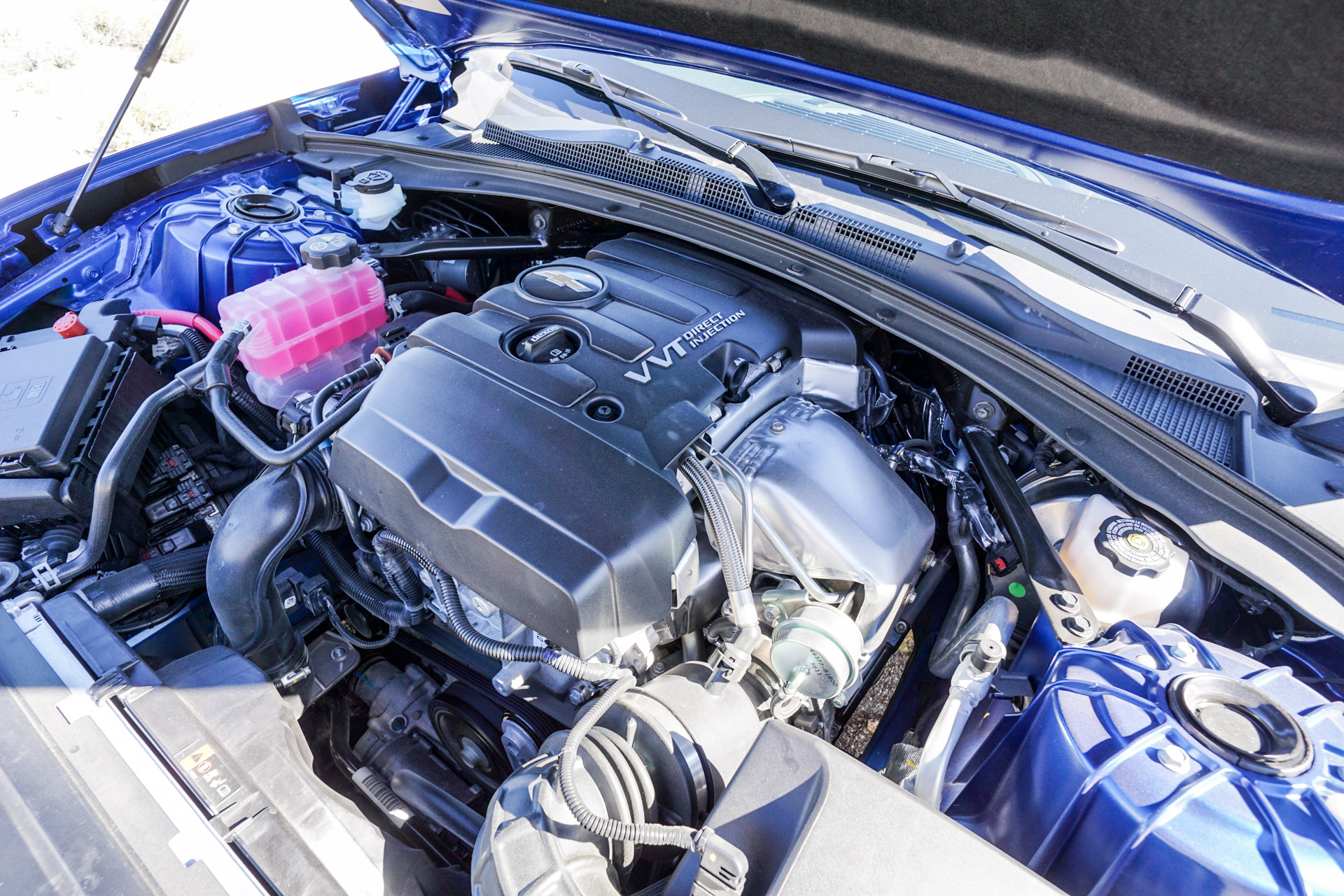 First Drive Review 2016 Chevrolet Camaro 2 0l Turbo 95