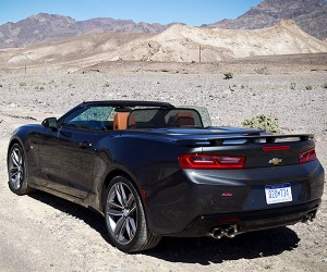 First Drive Review: 2016 Chevrolet Camaro SS Convertible