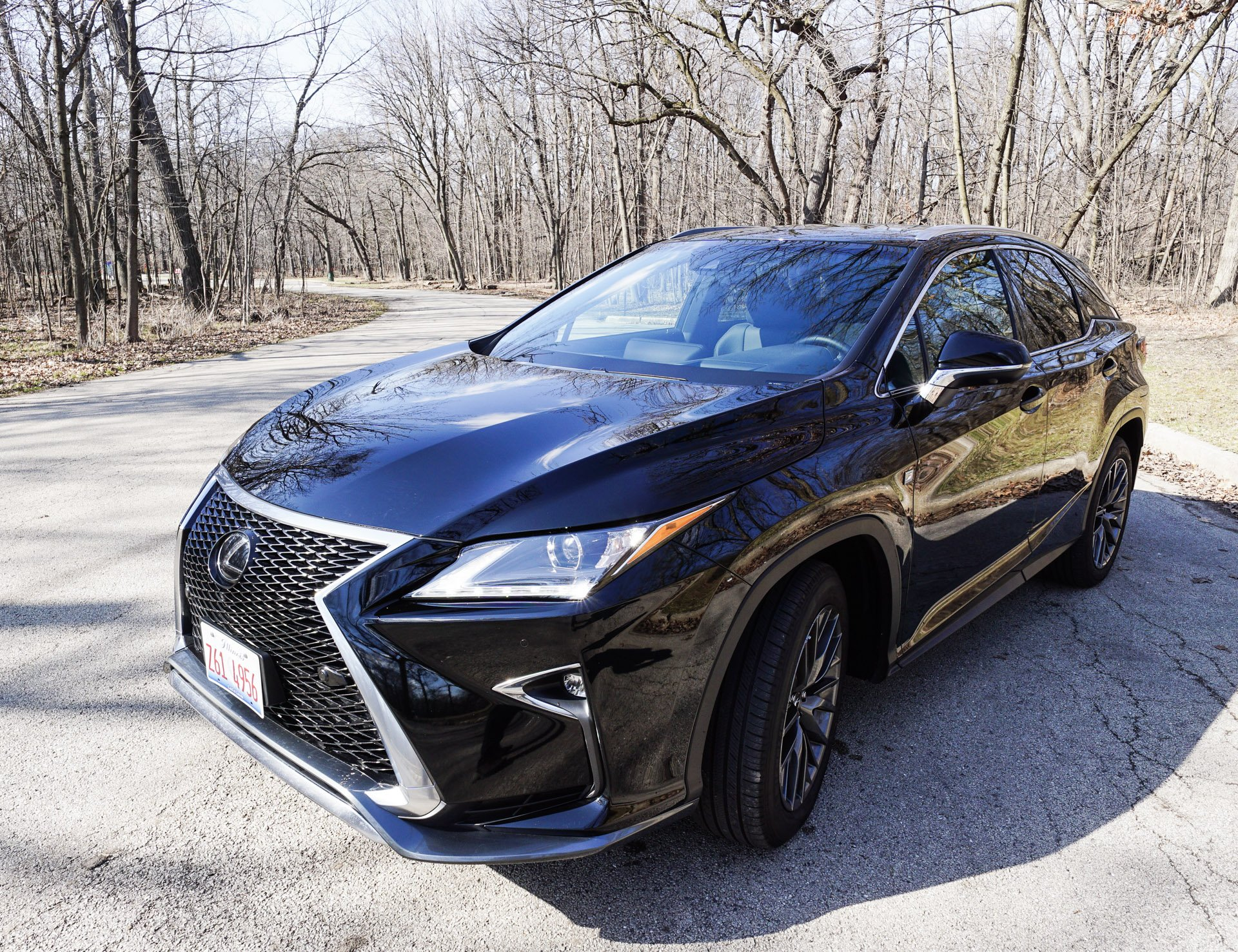 rx sport f lexus handout test driving review road suv reviews