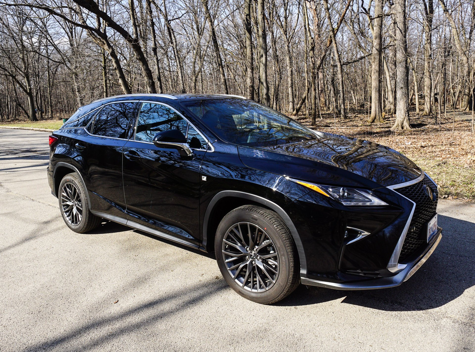 review 2016 lexus rx 350 f sport awd the thrill of driving. Black Bedroom Furniture Sets. Home Design Ideas