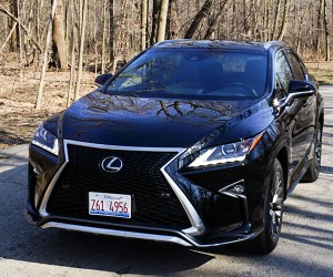 Review: 2016 Lexus RX 350 F Sport AWD