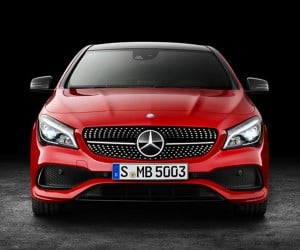 2017 Mercedes-Benz CLA and AMG CLA45 Break Cover