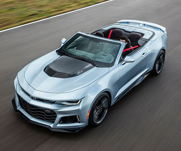 2017 Chevrolet Camaro ZL1 Convertible: 640hp Drop Top