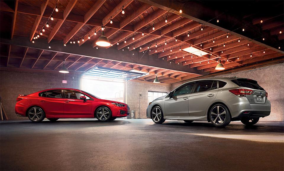 Subaru Unveils 2017 Impreza Sedan and Hatch