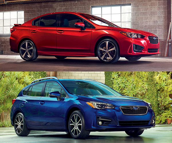 Subaru Unveils 2017 Impreza Sedan and Hatch