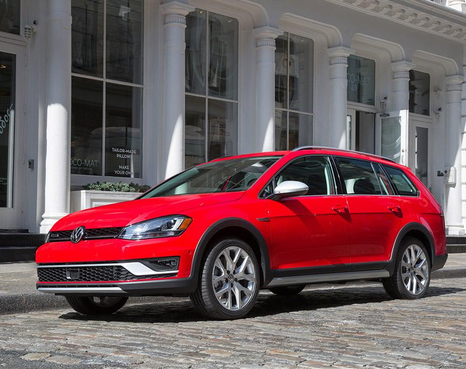 2017 VW Golf Alltrack US Production Kicks Off