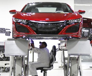 Acura to Kick off Serial Production of New NSX in Late April