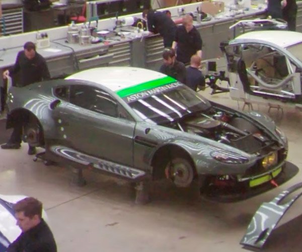 Watch an Aston Martin V8 Vantage GTE Racer Get Built