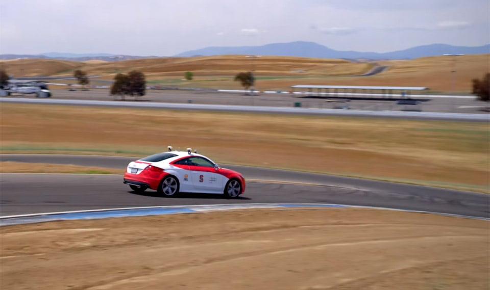Stanford's Autonomous Audi Takes a Track Day