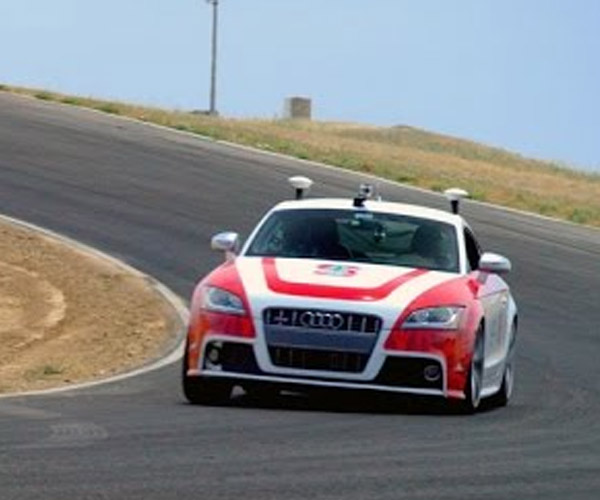 Stanford's Autonomous Audi Takes a Track Day