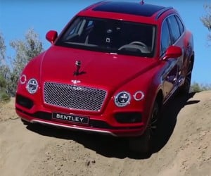 Bentley Bentayga: An Off-Road Vehicle Fit for a Queen