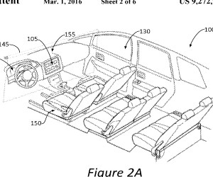 Ford Patent App Shows Movie Screen for Autonomous Cars