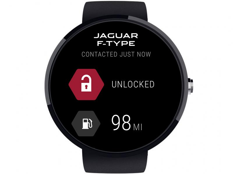 Jaguar Android Wear App Starts Cars and Unlocks Doors
