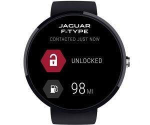 Jaguar Android Wear App Starts Cars and Unlocks Doors