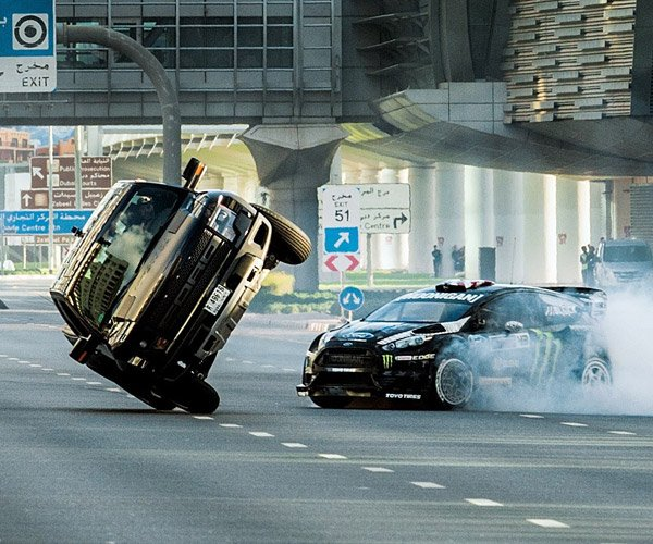 Ken Block Tears up Dubai in Gymkhana Eight