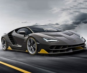 Lamborghini Centenario Has All the Sexy, ALL OF IT