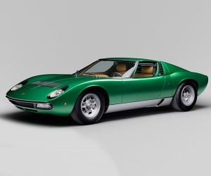 1971 Lamborghini Miura Geneva Show Car Restored