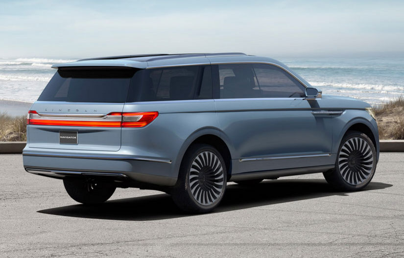 Lincoln navigator concept of 2018 car suggest - Lincoln Navigator Concept Has Gullwing Doors And A