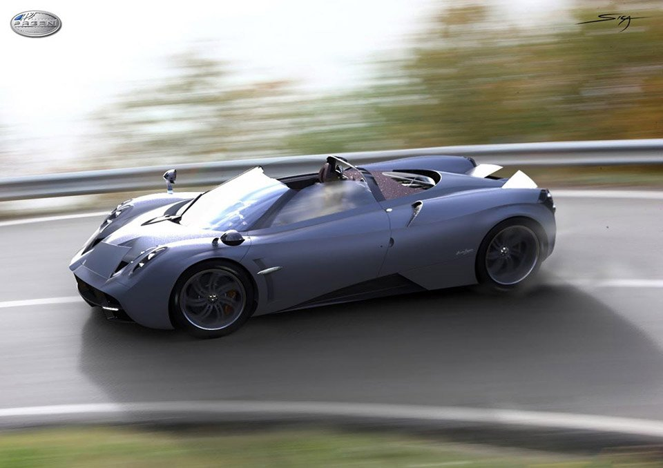 Pagani Huayra Roadster to Debut at Pebble Beach