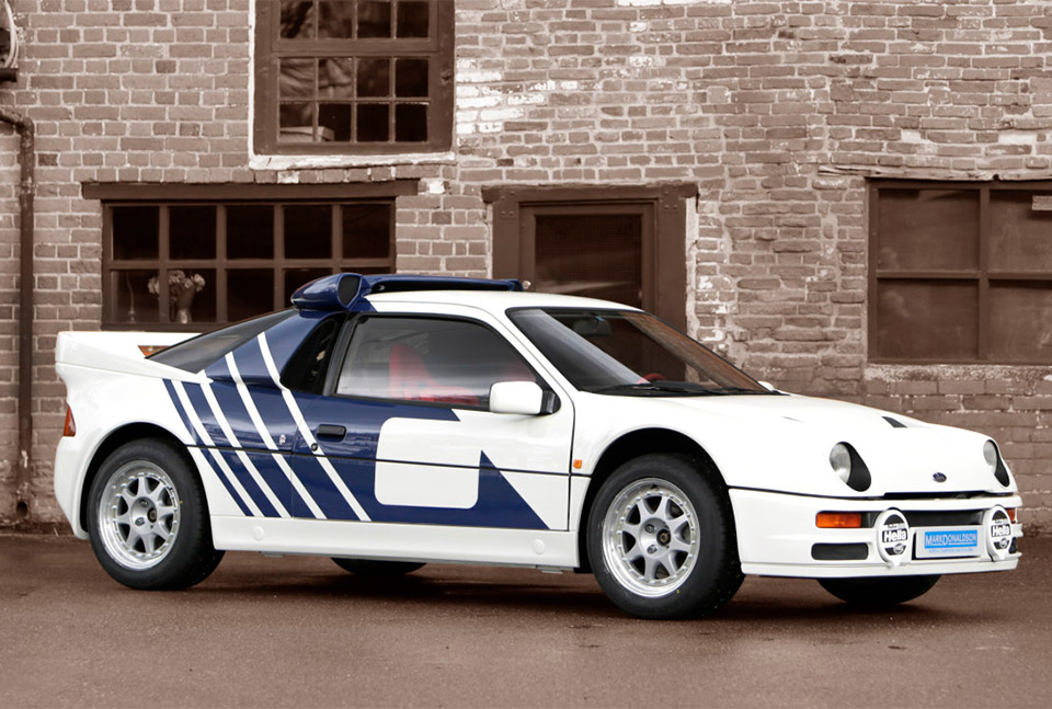 1986 Ford Rs200 Homologation Spec Rally Car For Sale 95