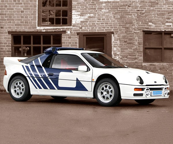 1986 Ford RS200 Homologation-Spec Rally Car for Sale