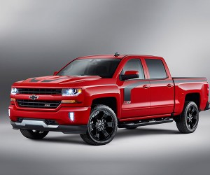 Chevy Unveils 2016 Silverado Rally Edition