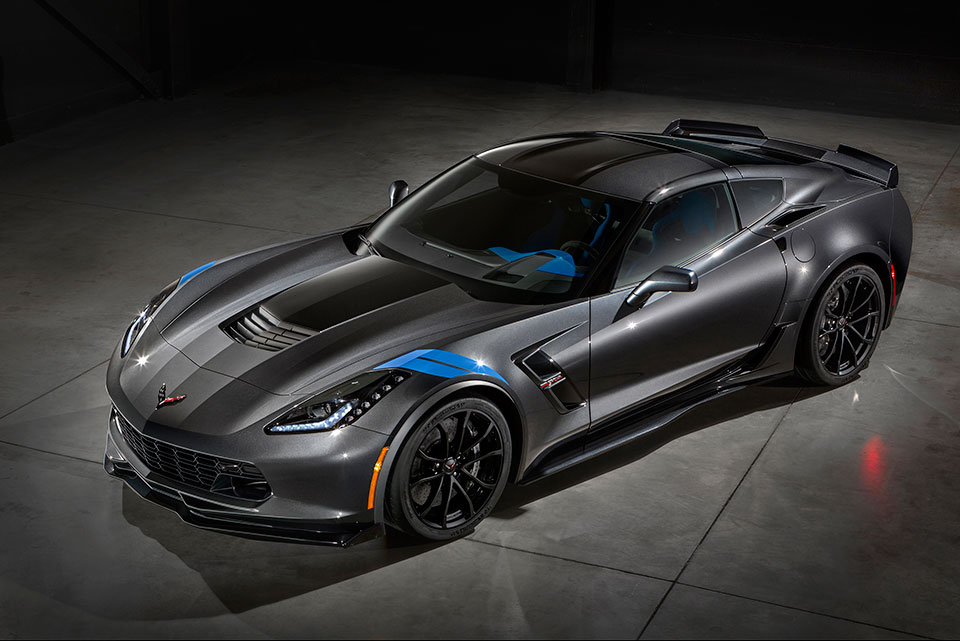 First 2017 Corvette Grand Sport Being Auctioned for Charity