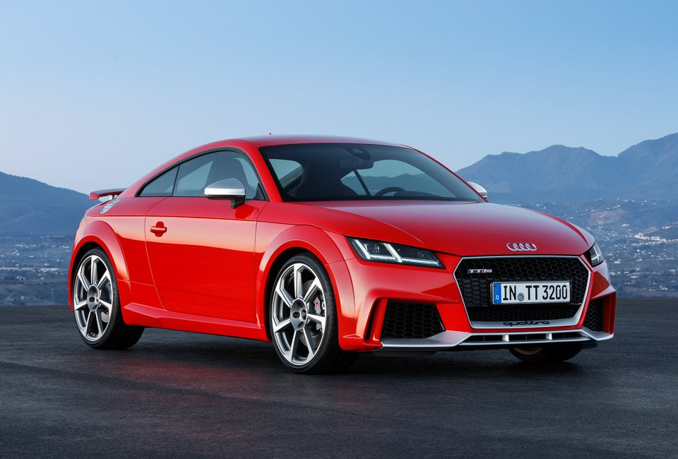 2017 Audi Tt Rs Coupe And Roadster Pack 400hp 95 Octane
