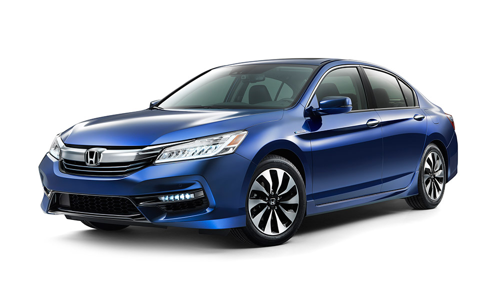 2017 Honda Accord Hybrid Gets 49mpg City