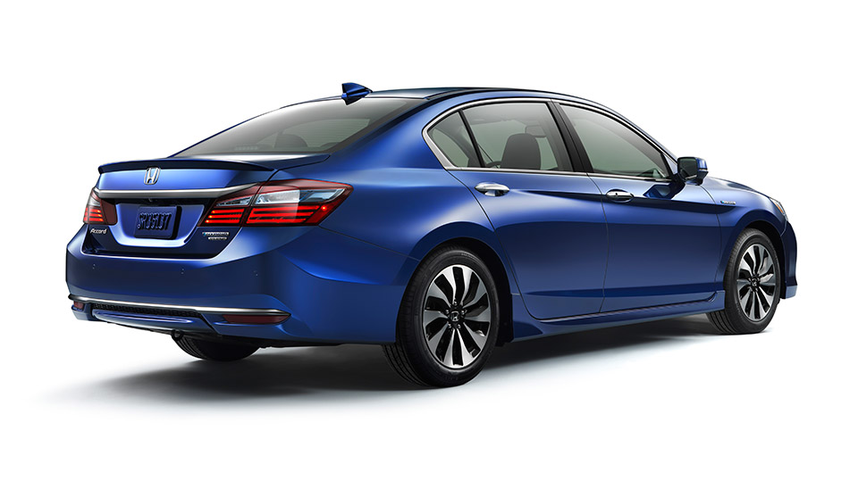 2017 Honda Accord Hybrid Gets 49mpg City - 95 Octane