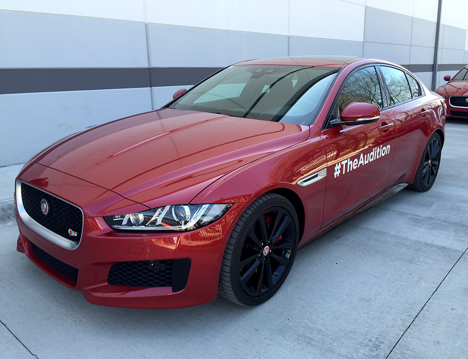 First Drive Review 2017 Jaguar Xe