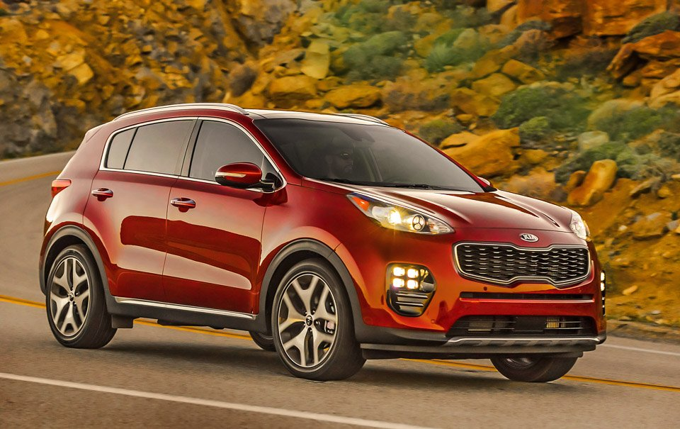 First Drive Review 2017 Kia Sportage 95 Octane