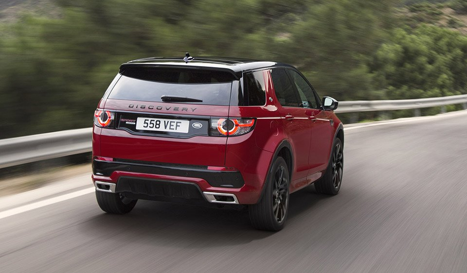 2017 Land Rover Discovery Sport 95 Octane