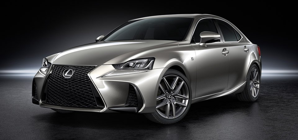 2017 Lexus IS Gets Exterior, Interior Refinements