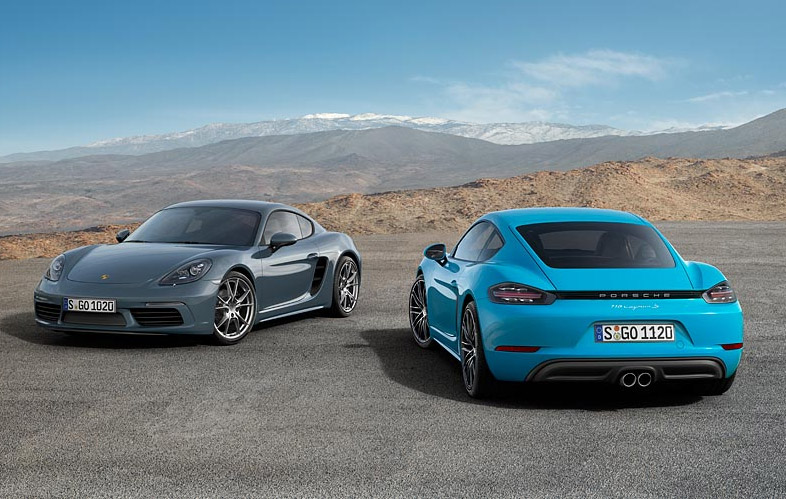 2017 Porsche 718 Cayman and 718 Cayman S Specs Announced