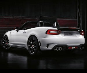 The Mighty Roar of the Abarth 124 Spider