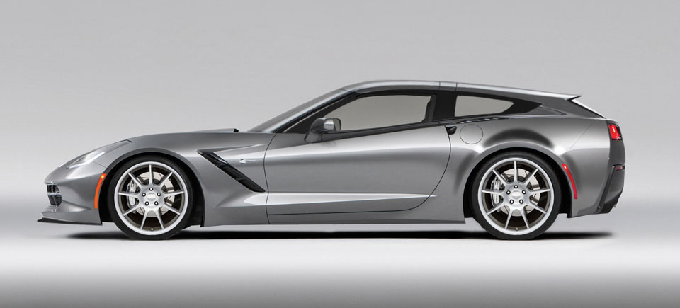 Corvette AeroWagen Production Kicks Off at Callaway in Q4 2016