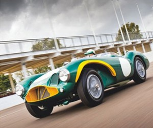 Stirling Moss' Aston Martin DB3S Heading to Auction