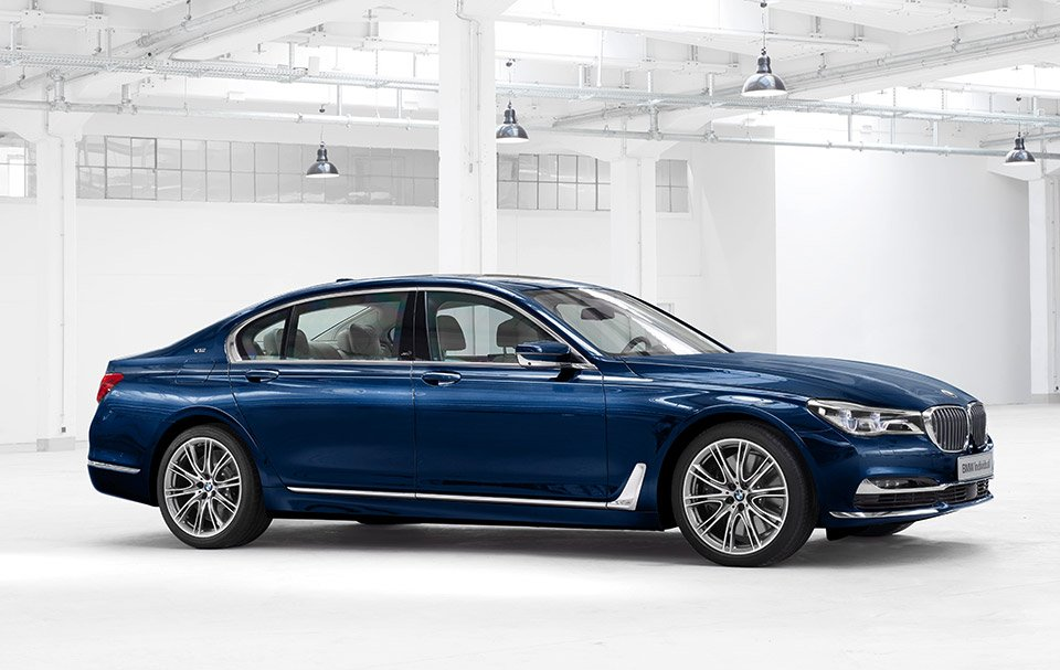 BMW's 100th Anniversary 7 Series Has a Terrible Name