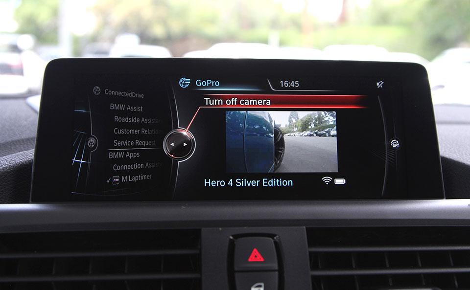 BMW M Laptimer App Getting GoPro Integration