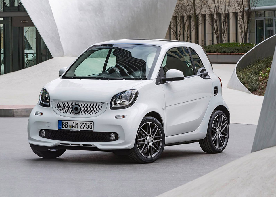 Brabus Tuned Smart Fortwo is the Tiniest Axe Murderer
