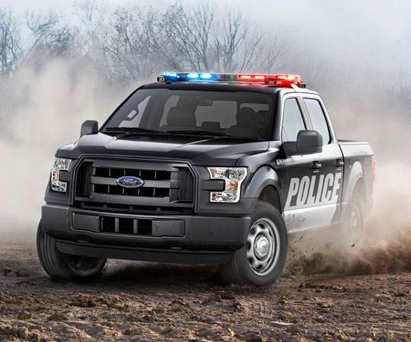 2016 Ford F150 Special Service Vehicle is a Truck for the PoPo