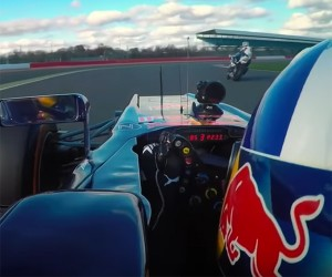 Speed Versus More Speed as F1 Car Battles Superbike