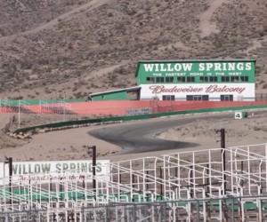 A Hellcat and the History of California's Willow Springs Track