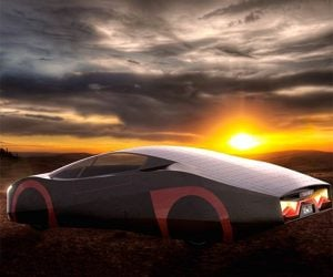 Immortus Solar Electric Sports Car Wants to Drive Forever