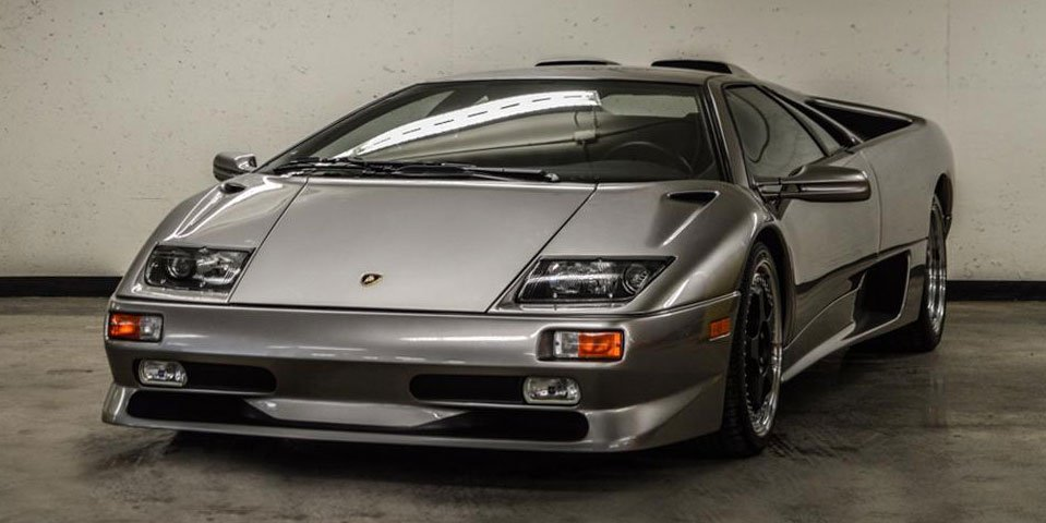 1999 Lamborghini Diablo Has Less Than 2 Miles on the Odometer