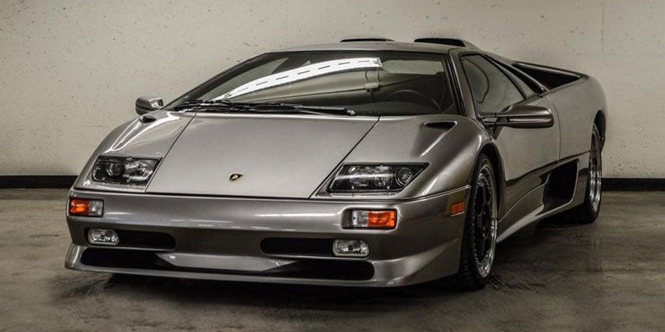 1999 Lamborghini Diablo Has Less Than 2 Miles on the Odometer